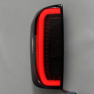 Car Rear LED Tail Light Smoke Black Pair for Nissan Navara NP300 2015-2019