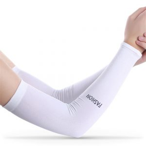 Motorcycle Ice Fabric Cycling Arm Warmers Sleeves Summer Sports UV Protector