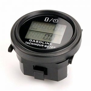 Motorcycle Runleader RL-HM005L Inductive Tachometer With Hour Meter For All Gasoline Engine