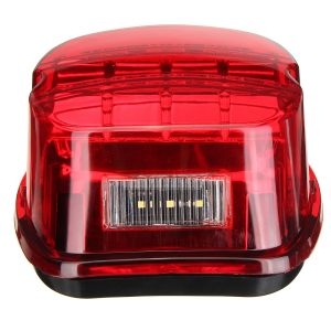 Motorcycle LED Rear Tail Brake Light License Lamp For Harley Davidson Sportster