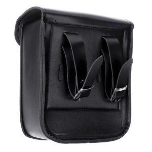 Motorcycle Saddlebags Luggage PU Leather Pouch Bag For Honda/Yamaha/Kawasaki/Harley Sportster