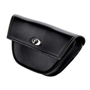 Motorcycle Saddlebags Side Bags PU leather Luggage Bag w/Mount Straps For Harley/Honda/Yamaha/Kawasaki/Suzuki