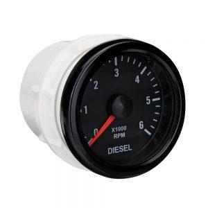 52mm 0-6000 RPM (On dash) Electrical Tachometer Gauge for Diesel Motor Engine