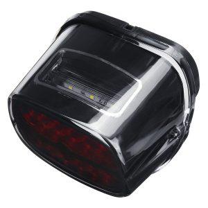 Black Smoke LED Motorcycle Tail Brake Light For Davidson Electra Street Glide