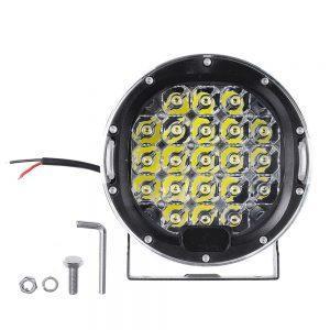 1Pcs LED 9-32V DC IP68 6000K 105W 6000LM Headlights For Motorcycle Car ATV JEEP