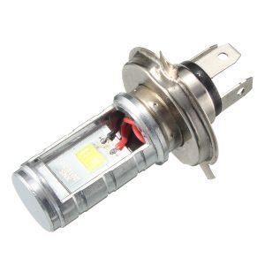 H4 12V-80V Motorcycle 6500K LED Hi/Lo Beam Headlights Front Light Bulb Headlamp