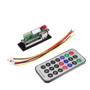 2V bluetooth 5.0 MP3 Decode Board Audio Module USB TF Radio For Car+Controller