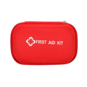 215pcs First Aid Kit Emergency Bag Home Car Outdoor American Red Cross Guide Set