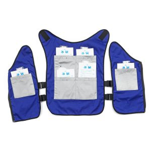 Motorcycle Outdoor Ice Cooling Vest Summer Sunstroke Prevention Clothing Suit For Unisex