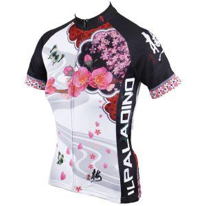 Women Cycling Jersey Ladies Shirts Sleeve Cycling Bike Motorcycle Shirt Quick Dry