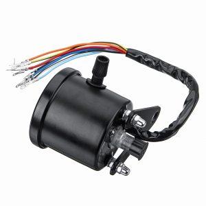 Motorcycle Dual Odometer KMH Night Vison Speedometer Gauge Meter LED Backlight Signal Light