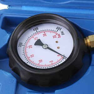 Oil Pressure Meter Test Tool Set Tester Gauge Diesel Petrol Car Garage Accessory