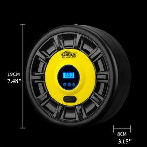 12V Portable Tire Air Pump Digital Display/Pointer Compressor Inflator W/ LED Lights