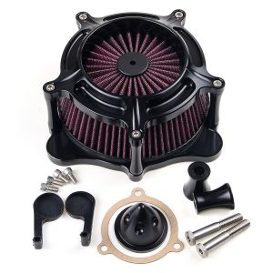 Motorcycle Air Cleaner Intake Filter For Harley T ouring 17-19 S oftail 2018
