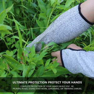Cuff Arm Guard Protective Gear Glass Factory Hppe Anti-cutting Gloves