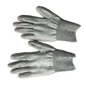 Level 5 Work Gloves Anti-Cuting Proof High Density PU Palm Protective Safe Glove