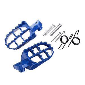 Wide Foot Pegs Footrests For Yamaha PW50 PW80 TW200 Honda XR/CRF Pit Dirt Bike