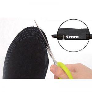 Electric Heated Shoe Insole Warm Socks Feet Heater USB Foot Winter Warmer