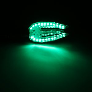 Universal 12V LED Motorcycle/Motorbike Turn Signal Indicators Blinker Lights Lamp Bulb 5colors