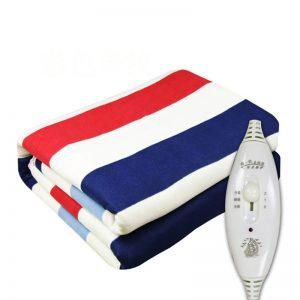 3 Gears Control Electric Blanket Heated Mat Waterproof Luxury Flannel Comfort Single