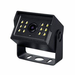Infrared/LED Style Rear View Webcam Dash Mirror Monitor + HD Waterproof Car Reverse Backup Camera Kit