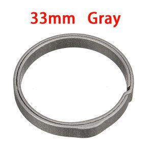 20-33mm Titanium Alloy Key Ring Pocket Split Keychain Buckle Circle Clip Motorcycle