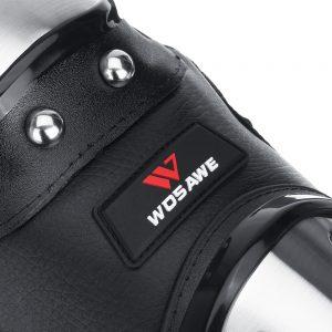 WOSAWE Motorcycle Long Knee Pad Elbow Guard Motorbike Racing Protective Gear Armor Stainless Steel