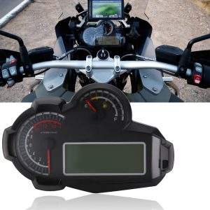 12V 15000RPM LCD Speedometer Digital Odometer Universal For 2 4 Cylinders Motorcycle