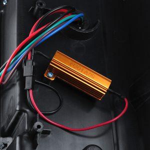 1 Pair Tail Light LED DIY Car Light 2 Colors Rear Brake Lamp for Ford Ranger Raptor T6 T7 PX XL XLT MK1 MK2 2012-2019