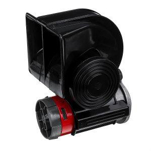 24V 139dB Electric Pump Air Horn Compact Dual Tone Loud For Vehicle Car Truck Taxi