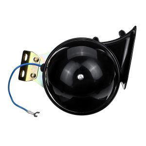 24V 250dB Electric Bull Horn Super Loud Raging Sound Waterproof Metal Universal
