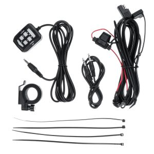 3.5 Inch 300W Waterproof bluetooth Motorcycle Stereo 2 Speaker MP3 Player Amplifier System