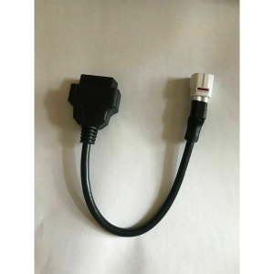 4 Pin to OBD2 OBDII Diagnostic Cable Harness Adapter For Yamaha