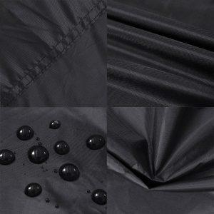 Waterproof BBQ Grill Furniture Cover Tvird Gas Heavy Duty For Weber Char-Broil Nexgrill Brinkmann Windproof 145x61x117cm
