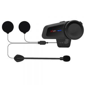 1000M M2 Waterproof 6 Riders Group Talking Helmet Intercom Universal Pairing Motorcycle bluetooth Headset FM Radio