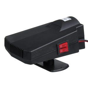 12V 200W Power Portable Car Cool Heater Defogging Defroster
