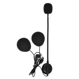 Hard Tube BT-S2 Intercom Headset with Microphone BT-S1 BT-S3 Type C Version For Motorcycle Helmet Interphone