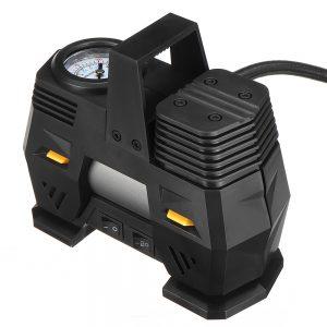 12V 150Psi 40L/Min Portable Digital LED Smart Air Compressor Pump Handheld Tire Inflator Electric Air Pump 30 Cylinder