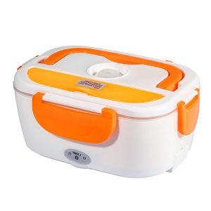 School Office Home Outdoor Portable Electric 12V Heated Lunch Box 110V/220V Food Warmer Food Grade Material Food Cooking Machine Heating Box