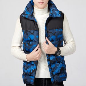Electric Heated Vest Clothes Warm Vest Men Heating Coat Jacket For Camping Sports
