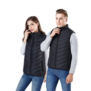5 Heating Pads USB Electric Vest Heated Jacket USB Warm Up Winter Body Warmer Coat