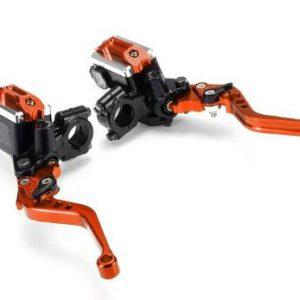 22cm 7/8 Inch Motorcycle Handlebar Master Cylinder Levers Handle Hydraulic Brake Pump Clutch