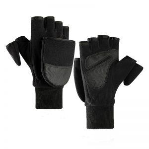 Winter Warm Glove Flip Bag Full Finger Outdoor Fingertips Touch Screen