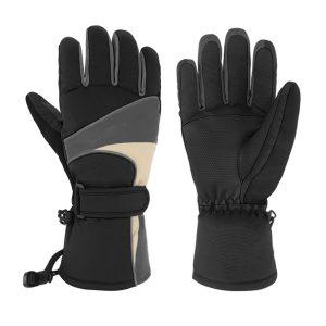 Electric Heated Gloves Motorcycle Winter Waterproof Thermal Outdoor Skiing Warmer