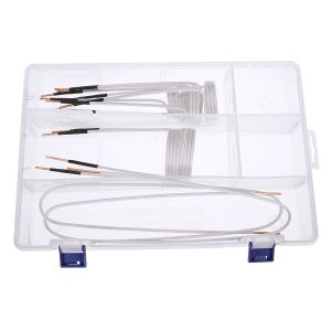 8 Pcs Inter Changeable Long Inductance Coil Kit For Magnetic Induction Heating Module Heater Mini Ductor