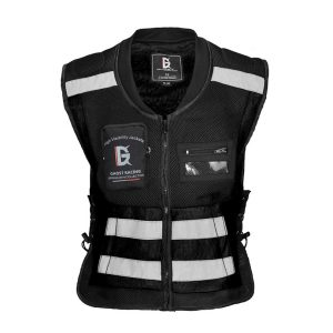 GHOST RACING Motorcycle Reflective Vest Jacket Chaqueta Ropa Moto Safety Protective Gear High Visibility Signal Cycling Clothing