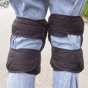 Motorcycle Kneepads Sport Knee Pad Universal Winter Warm Riding Windproof Cold-proof