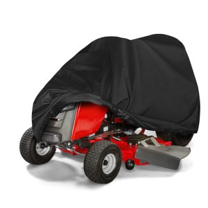 210D Waterproof UV Protection Lawnmower ATV UTV Tractor Cover Riding Waterproof Dustproof Heavy-Duty Double Stitched Seams