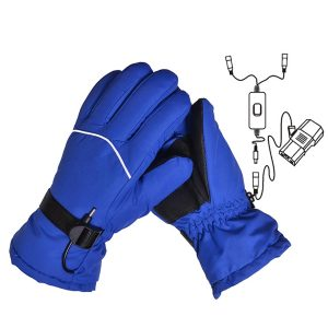48V/60V Heating Glove Winter Heated Skiing Gloves Waterproof Mittens Thermal Snowboard