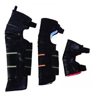 Motorcycle Winter Warm Kneepads Windproof Safety Protective Gear Pu Leather Outdoor Cycling Knee Pad